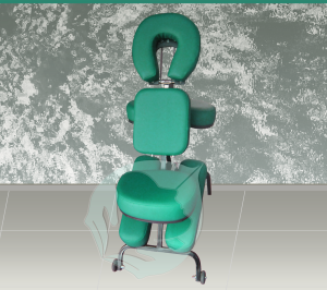 silla verde